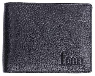 F DOTT Men's Genuine Leather Bi-fold Wallet