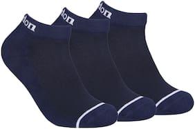 FABDON Blue Cotton Ankle length socks ( Pack of 3 )
