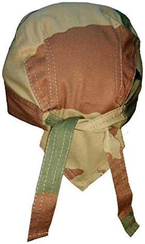 FABLOOK Boys Camoflauge Tribal Army Print Cap Style Tieable Bandana Cap