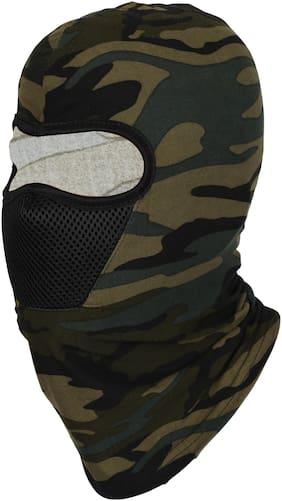 FabSeasons Camouflage Polyester Multi Functional Pollution & Winter Face Mask;Balaclava;Neck Warmer Ninja Mask;Cap and Bandana