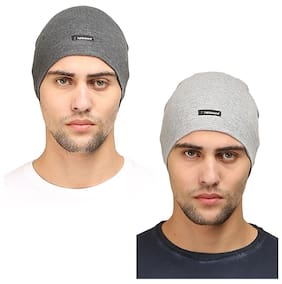 FabSeasons Cotton Skull Cap ideal for all Summer   Winters. Can be used  under 2c6ee58bc2d