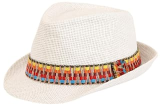 66d69c4f8e0 Buy FabSeasons Casual Fedora Hat Online at Low Prices in India ...