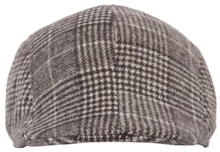 Buy FabSeasons Checkered Golf Flat Cap Online at Low Prices in India ... d9894771b40