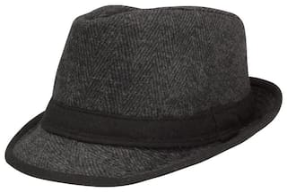 Buy FabSeasons Casual Fedora Hat Online at Low Prices in India ... 8a18abe29b9