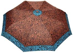 FabSeasons Symmteric Print 3 fold Umbrella for Rains and all Seasons