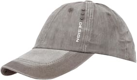 FabSeasons Unisex Washed / Faded Cotton Corduroy Baseball Summer Cap
