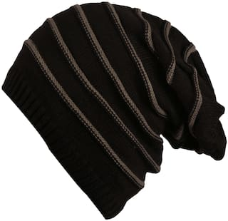 3e16d60162c1f Buy FabSeasons Unisex Acrylic Woolen Winter Beanie and Skull Cap for ...