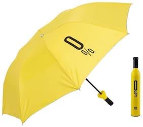 Fashionable Wine Bottle Travel Umbrella (Multi Color)Pack of 1