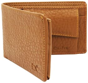 fashionable leather   wallet for men ( tan straight -1 )