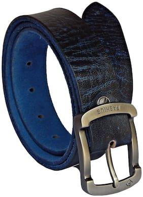 Fashius Men Exclusive Blue Genuine Leather Belt