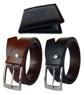 Fashius Mens Belt wallet combo of 3