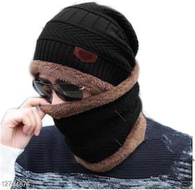 Fashlook Black Balakalava Winter Cap