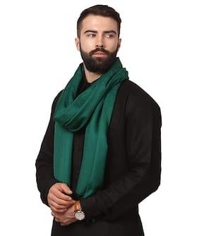 FASHLOOK Men Wool Shawl - Green