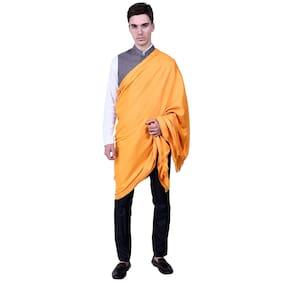 FASHLOOK Unisex Wool Shawl - Gold