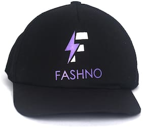 Fashno Black Men's Cap