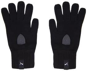 Puma Men Fabric Muffler - Black