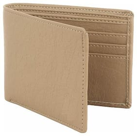 Fill Cryppies Beige Men's Causal Artificial Leather Wallet (FC-MW-016)