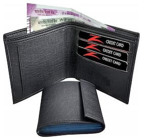 Fill Cryppies Black Men Causal Artificial Leather Wallet (FC-MW-024)