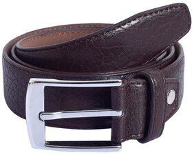 Firenzi Brown Leatherite Belt