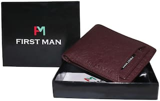 First Man Mens Wallets