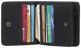 First Man Small Black Wallet