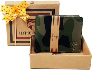 FLYING HAWK  Men Military Artificial Leather Wallet