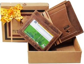 FLYING HAWK Genuine Leather Wallet