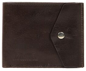 Flying Machine Men Leather Bi-fold - Brown