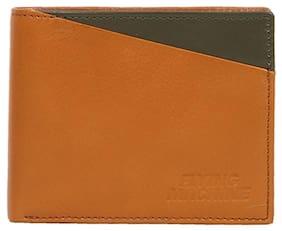 Flying Machine Men Genuine Leather Wallet