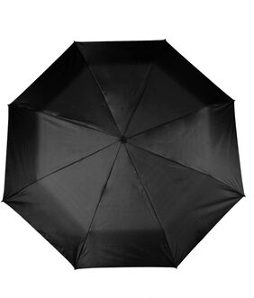 Fold Auto Open Black Color  Umbrella  (Black)