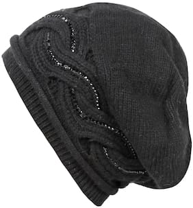 1061e3bb0f9 FRIENDSKART Printed Beanies Winter Hats For Women Men Knitted Caps Woolen  Hat Casual Unisex Beanie Warm