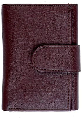 Gentleman Genuine Leather Brown Wallets for Mens/Boys