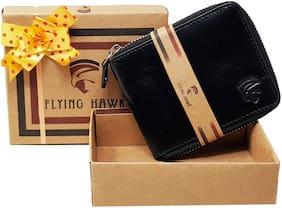 Genuine Leather Wallet (Black)