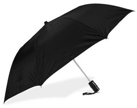 Gking 2  fold Auto Open Polyester Umbrella (Black)
