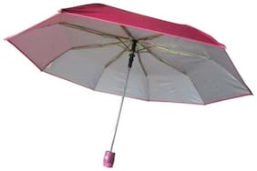 Gking 2  fold Auto Open Polyester Umbrella (Pink)
