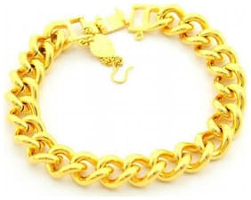 Genset Men Metal Bracelets - Gold