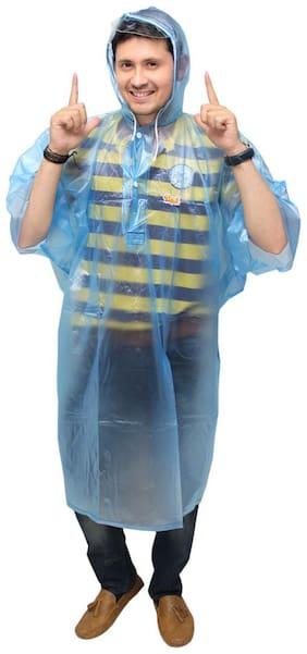 Goodluck Men's PVC Poncho