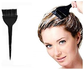 Hair Dye Brushe for Men and Women Saloon Parlor and Home Use Hair Coloring Brush Hair Brush for Dying Black (Pack of 1)