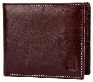 U+N Hand Crafted Genuine Leather Wallet w4