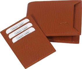 Hand made separable pocket pure leather  ( pu) wallet ( Tan bacha -2)