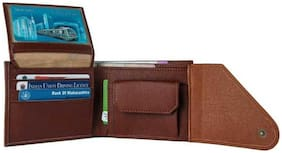 hand made stylish pure leather (pu)  wallet ( Mix kaan -2)