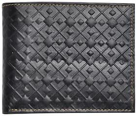 Hawai Modish Black Leather Wallet