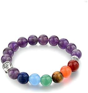 Hot And Bold Men Metal Bracelets - Purple