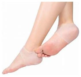 heel care silicone heel cover protects from cracks and preserves moisture Foot Support
