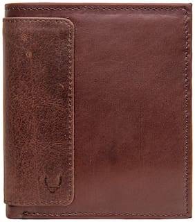 HIDESIGN 253 L015 (RFID) BROWN LEATHER WALLET MENS WALLET  (Free Duffe Bag on Purchase of Rs. 5000 & Free Sling Bag on purchase of Rs. 8000 )