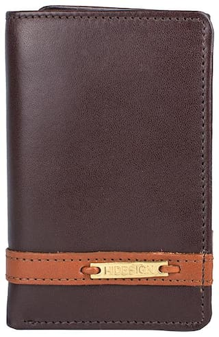HIDESIGN 259TF (RFID) BROWN LEATHER MENS WALLET  (Free Duffe Bag on Purchase of Rs. 5000 & Free Sling Bag on purchase of Rs. 8000 )