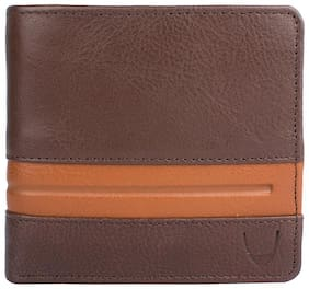 Hidesign Men Brown Leather Bi-Fold Wallet ( Pack of 1 )