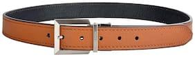 Hidesign Men Tan Pu Belt (Size: 38 , Pack of 1 )