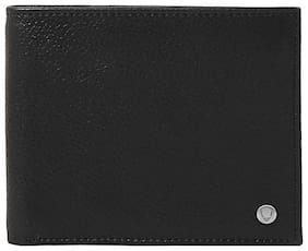 Hidesign Men Black Leather Bi-Fold Wallet ( Pack of 1 )