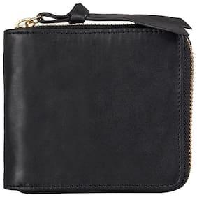 Hidesign Manue (RF) Black Leather Mens Wallet